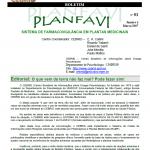 Boletim PLANFAVI 01
