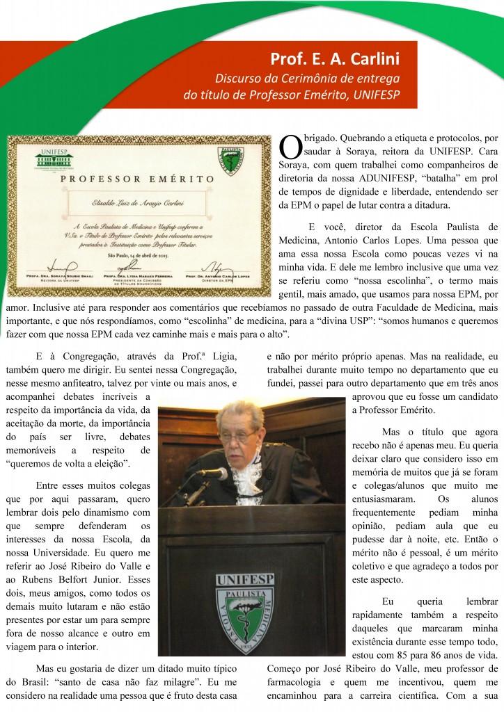 Discurso Prof. Emérito - Página 1