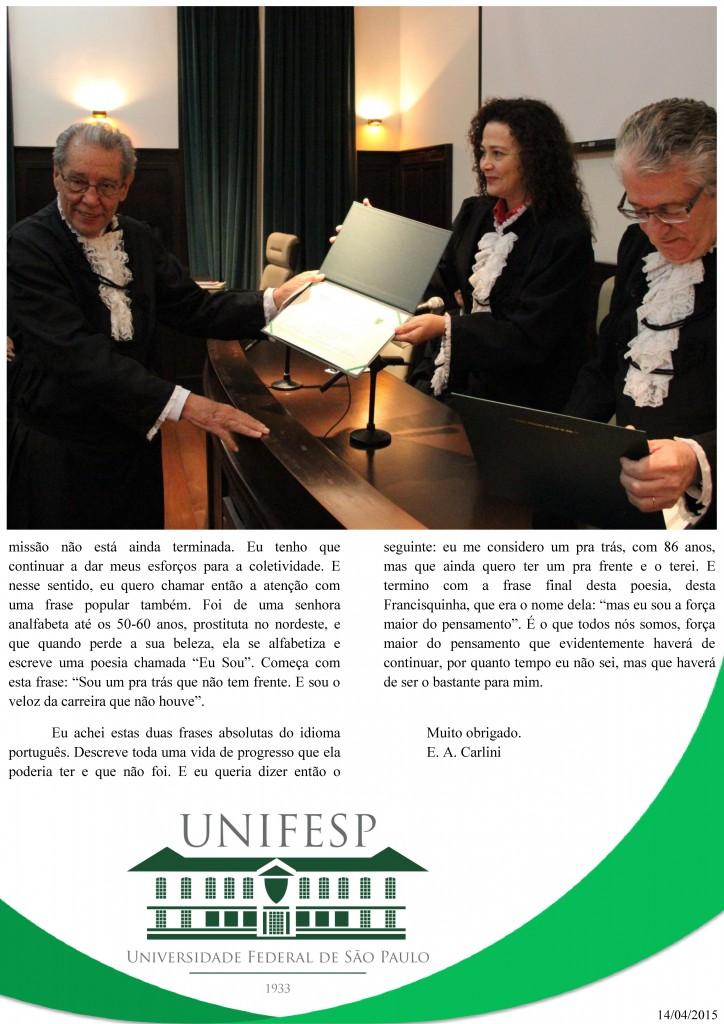 Discurso Prof. Emérito - Página 3
