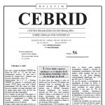 Boletim CEBRID 56