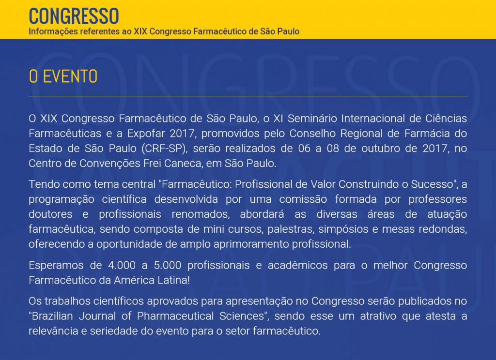 XIX Congresso Farmacêutico de São Paulo_3