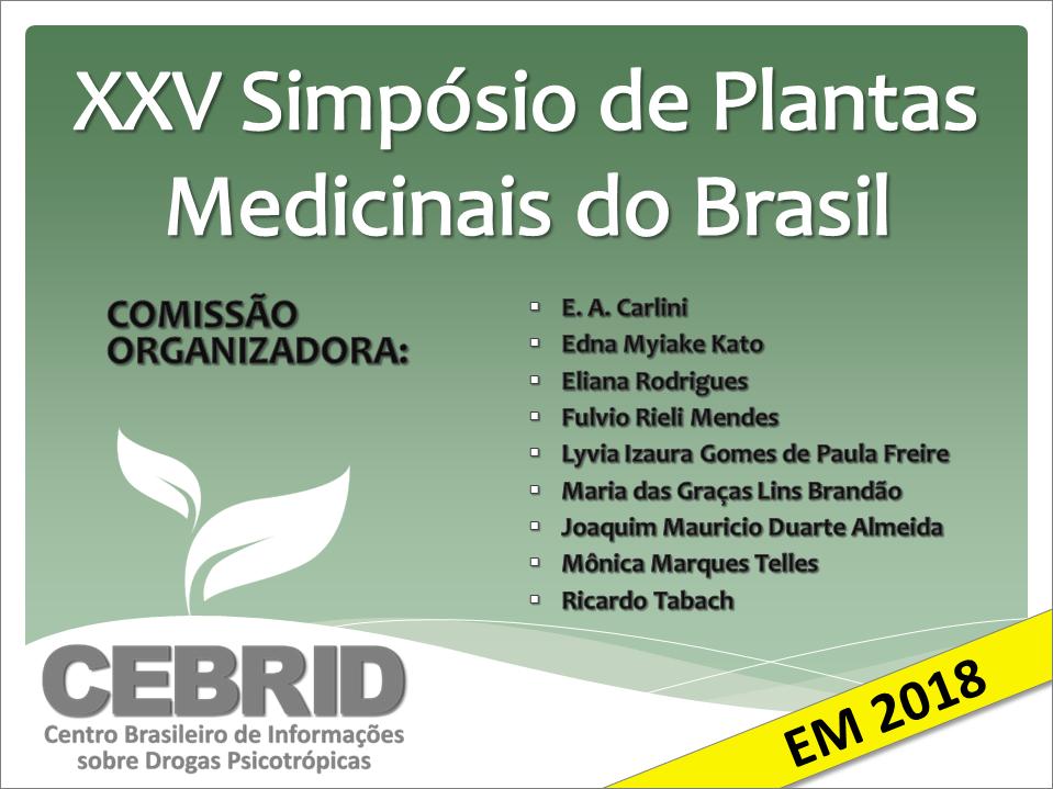 XXV Simpósio de Plantas Medicinais do Brasil