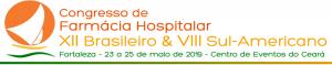 Congresso Brasileiro de Farmácia Hospitalar 2019, SBRAFH - 23 a 25 de maio de 2019, Centro de Eventos do Ceará